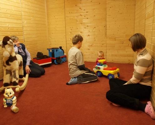 Kinderfreundliches Hotel Spielzimmer