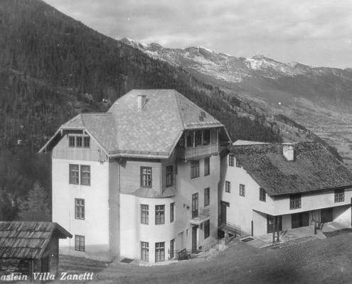 Villa Zanetti bis 1935