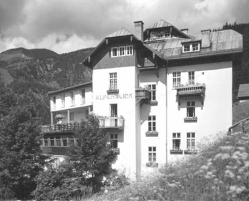 Hotel Alpenblick 60er Jahre
