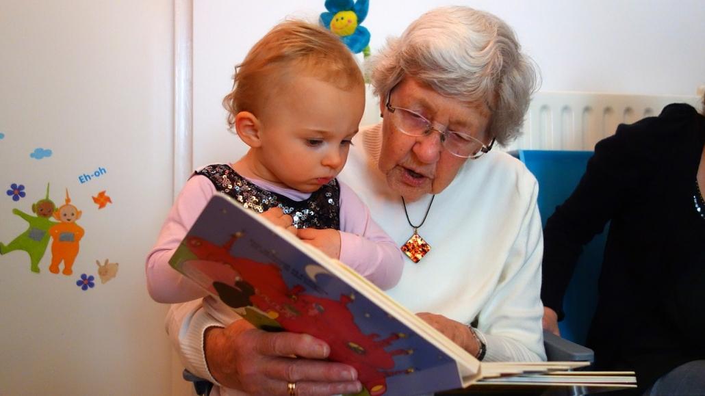 Oma und Enkel Urlaubswoche