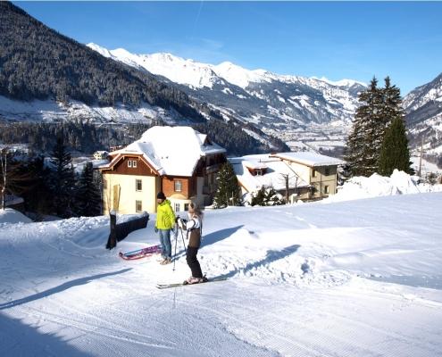 Abfahrt bis Alpenblick